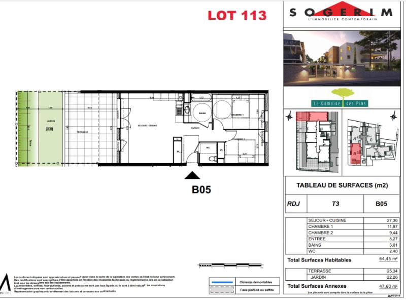 Alquiler  apartamento Villeneuve les maguelone 920€ CC - Fotografía 4