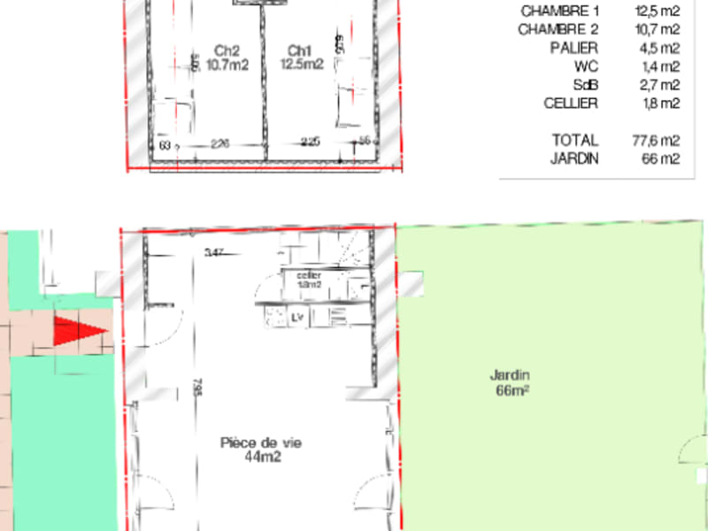 Vente maison / villa Faumont 145000€ - Photo 2