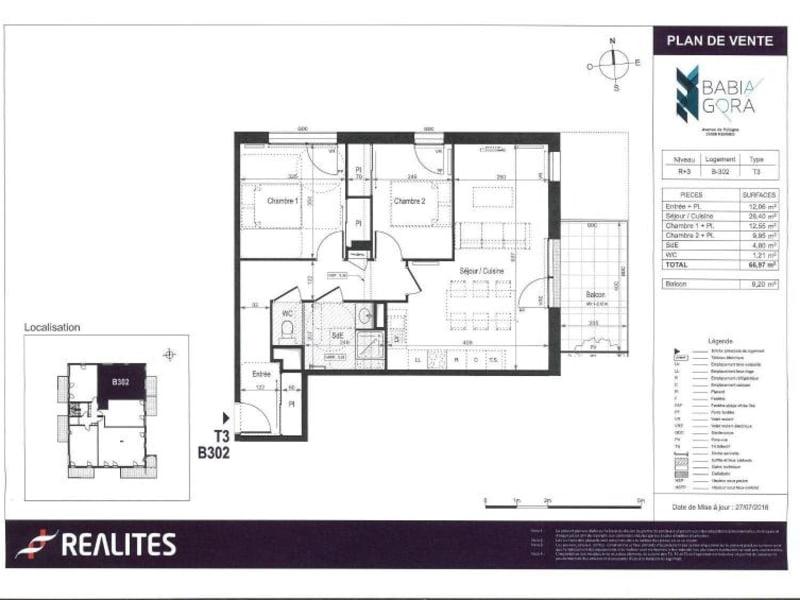 Appartement neuf Rennes - 3 pièce(s) - 66.97 m2
