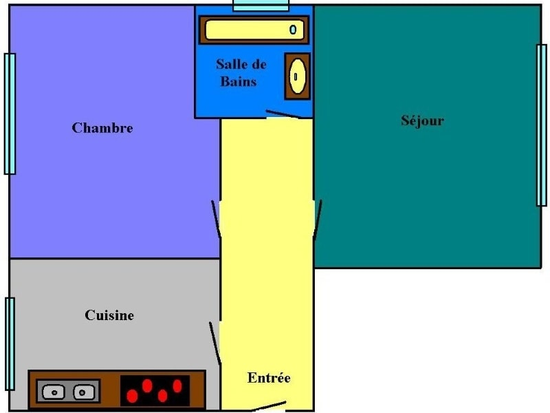 Rental apartment Boulogne billancourt 1280€ CC - Picture 6