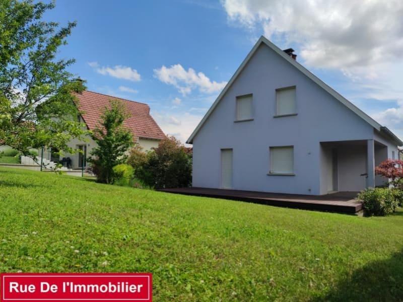 Vente maison / villa Kutzenhausen 424000€ - Photo 1