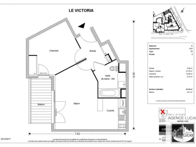 Rental apartment Beauchamp 795€ CC - Picture 2