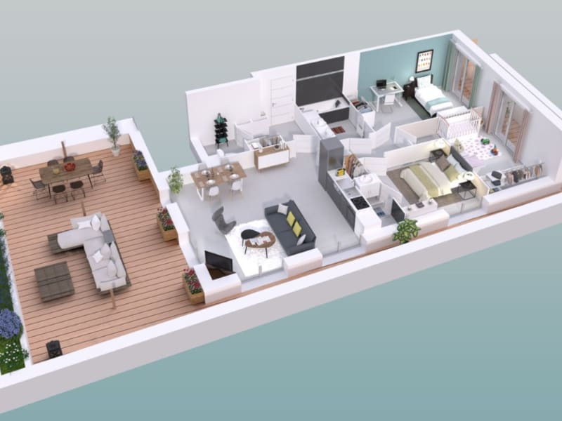 Vente appartement Montpellier 375000€ - Photo 3