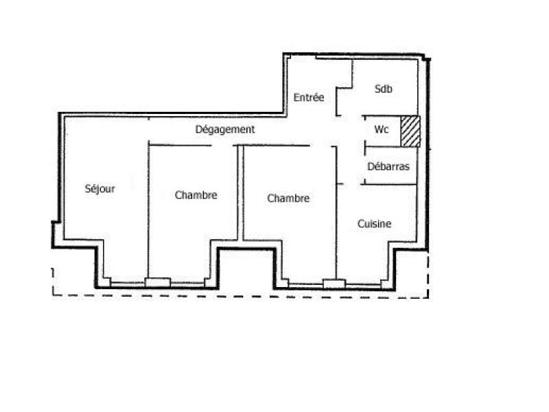 Vente appartement Souffelweyersheim 182000€ - Photo 3