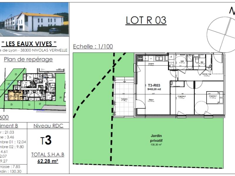 Sale apartment Bourgoin jallieu 204573€ - Picture 2