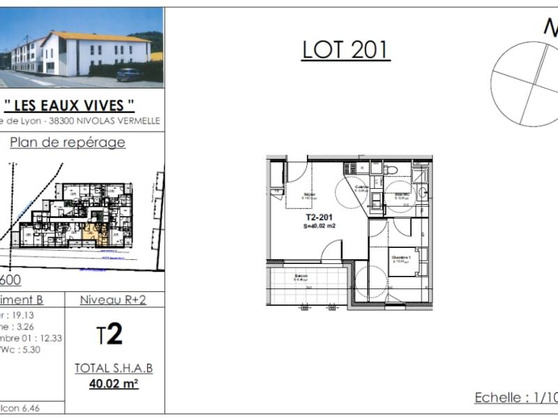 Sale apartment Nivolas vermelle 133643€ - Picture 2