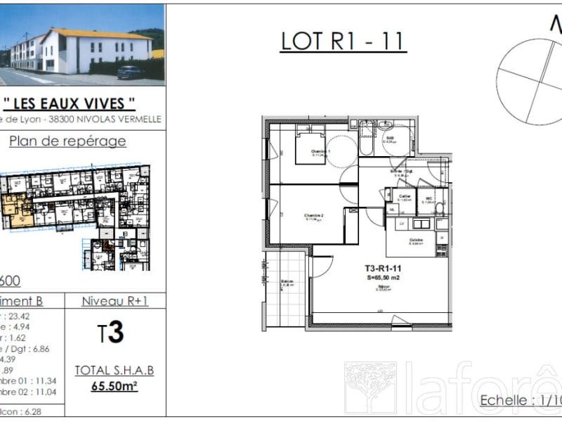 Sale apartment Nivolas vermelle 212098€ - Picture 2