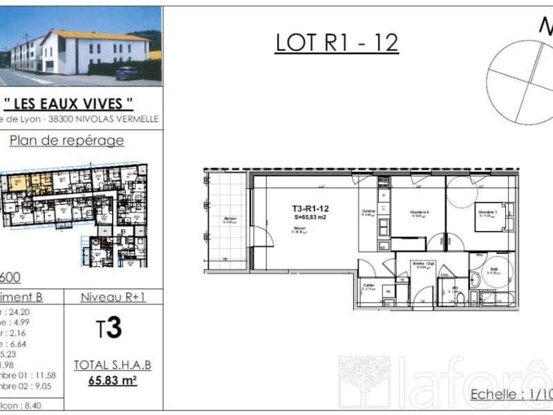 Sale apartment Bourgoin jallieu 216393€ - Picture 2
