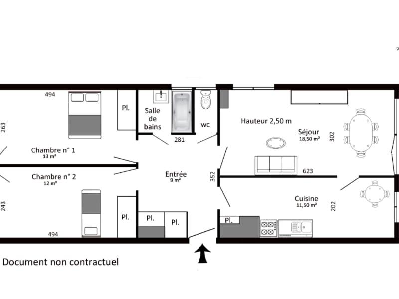 Rental apartment Cachan 1112€ CC - Picture 2