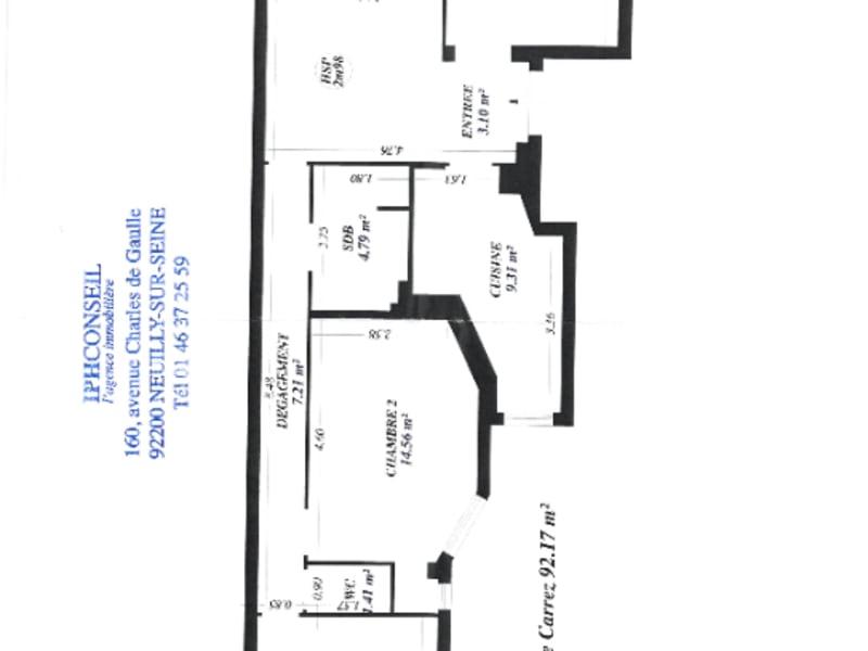 Vente appartement Neuilly sur seine 995000€ - Photo 7