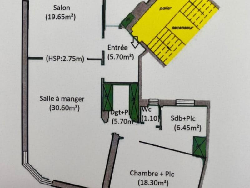 Sale apartment Paris 16ème 1270000€ - Picture 14