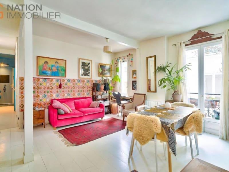 Venta  apartamento Paris 20ème 610000€ - Fotografía 1