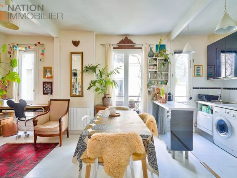 Venta  apartamento Paris 20ème 610000€ - Fotografía 2
