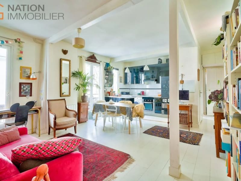 Venta  apartamento Paris 20ème 610000€ - Fotografía 3