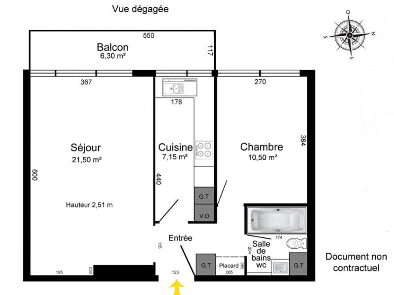 Sale apartment Paris 19ème 405600€ - Picture 3