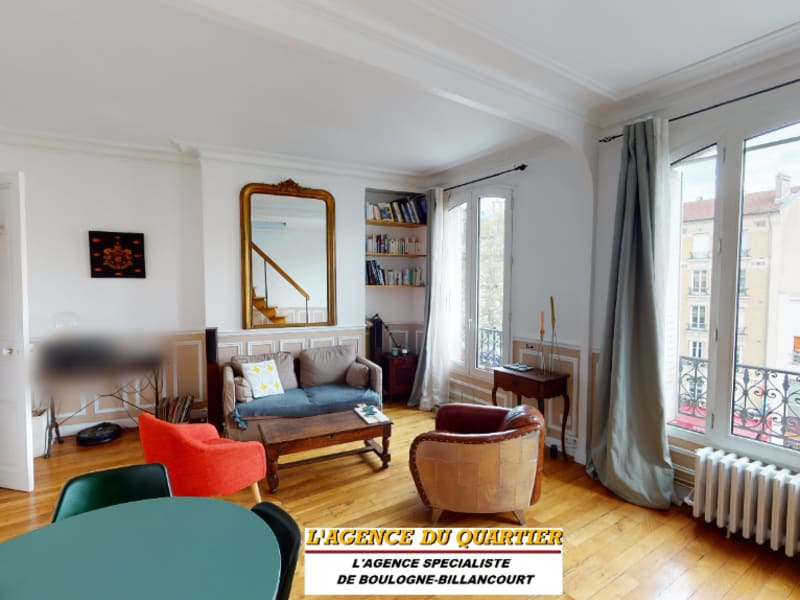 Deluxe sale apartment Boulogne billancourt 774000€ - Picture 1