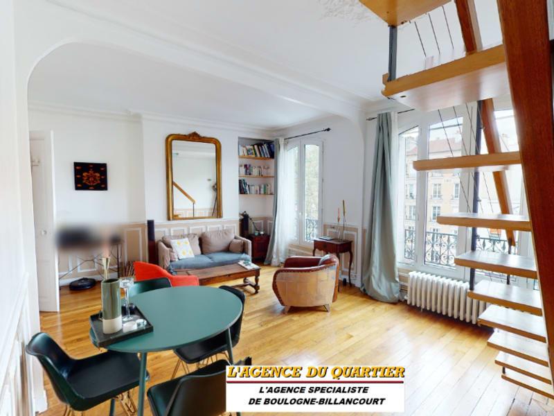 Deluxe sale apartment Boulogne billancourt 774000€ - Picture 2