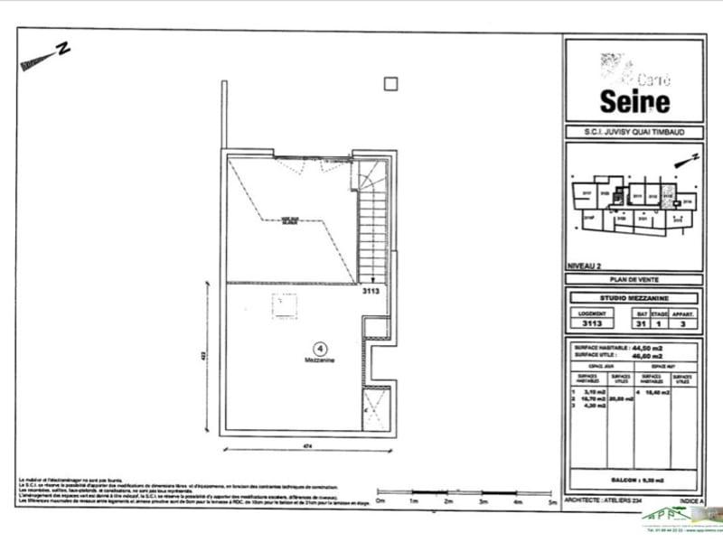 Rental apartment Juvisy sur orge 776,87€ CC - Picture 3