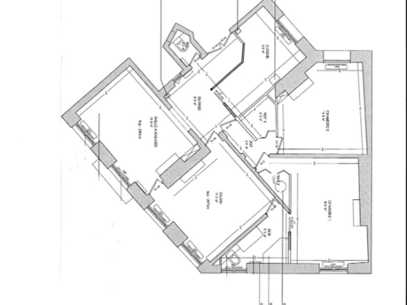Vente appartement Neuilly sur seine 1100000€ - Photo 15