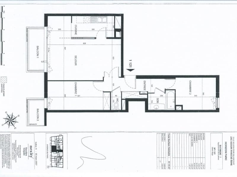 Vente appartement Boulogne billancourt 650000€ - Photo 2