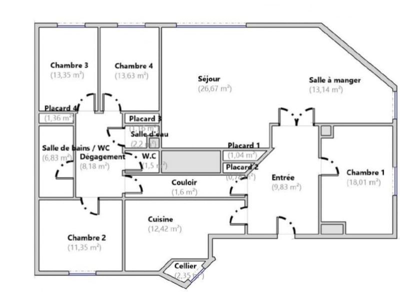 Vente appartement Le vesinet 600000€ - Photo 2