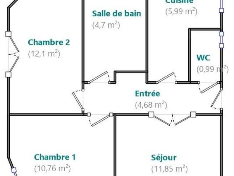 Sale apartment Boulogne billancourt 419000€ - Picture 7