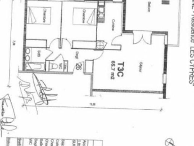 Sale apartment Aussonne 166690€ - Picture 7