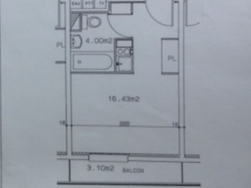Location appartement Dijon 400€ CC - Photo 5