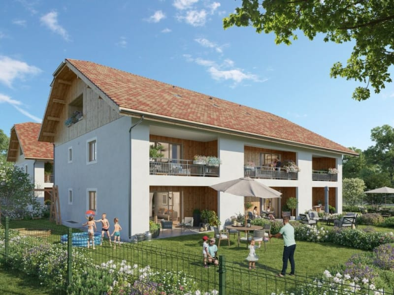 Vente appartement Cornier 204000€ - Photo 1