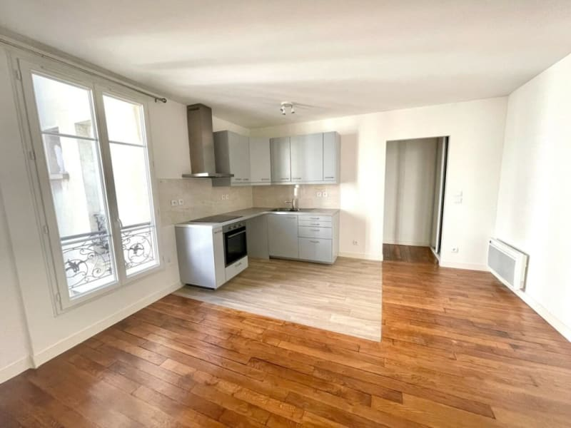 Rental apartment Courbevoie 1285€ CC - Picture 2