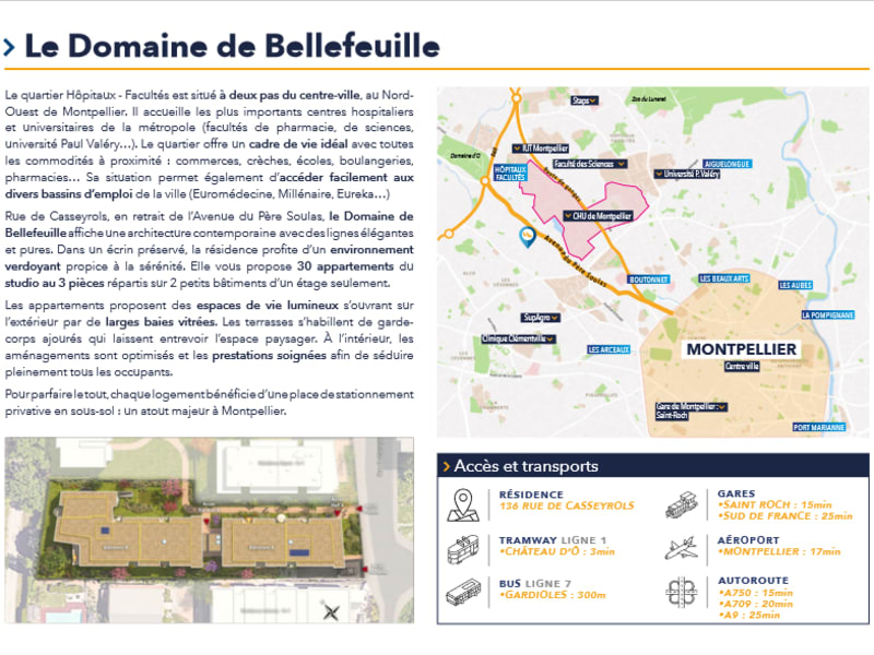 New home sale building Montpellier  - Picture 3