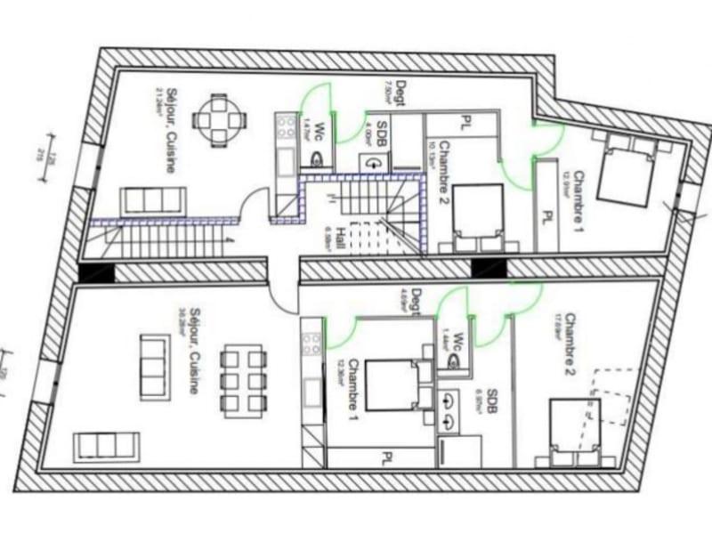 Sale building Bras 191340€ - Picture 6