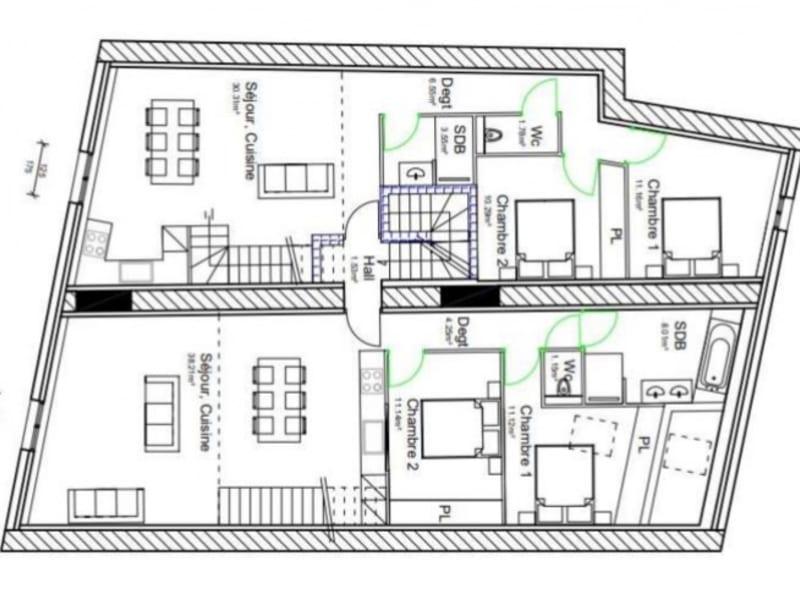 Sale building Bras 191340€ - Picture 7
