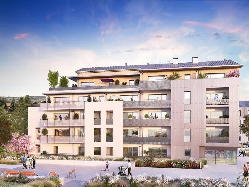 Rental apartment Bons en chablais 850€ CC - Picture 1