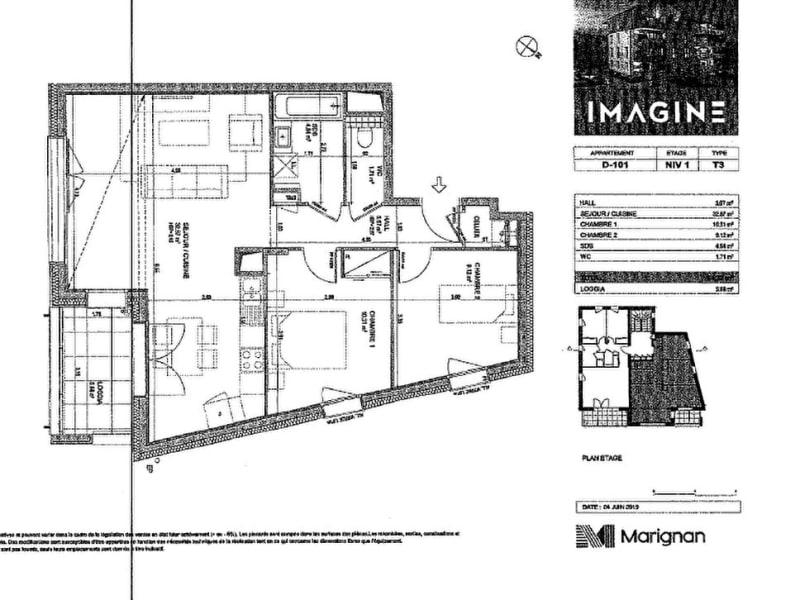 Rental apartment Bons en chablais 850€ CC - Picture 4
