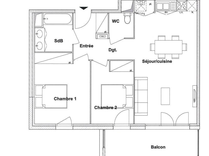Rental apartment Toulouse 695€ CC - Picture 8