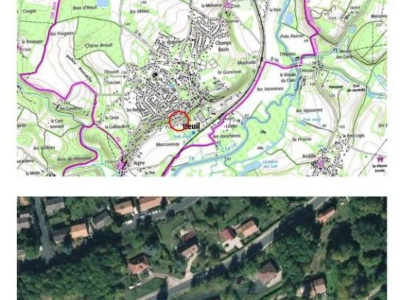 Vente terrain Iteuil 29120€ - Photo 1