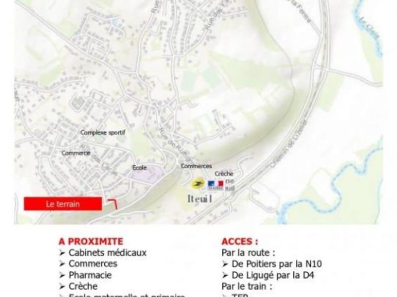Vente terrain Iteuil 29120€ - Photo 2
