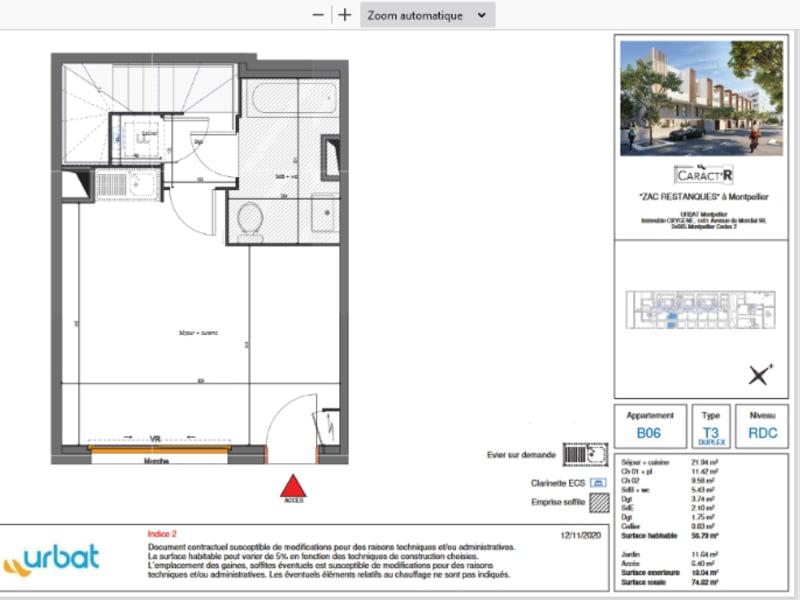 Vente maison / villa Montpellier 269000€ - Photo 5