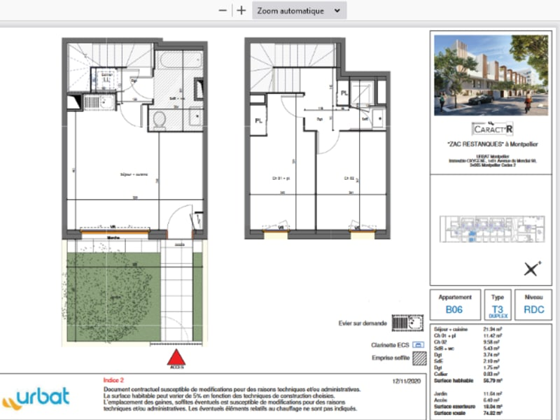 Vente maison / villa Montpellier 269000€ - Photo 7