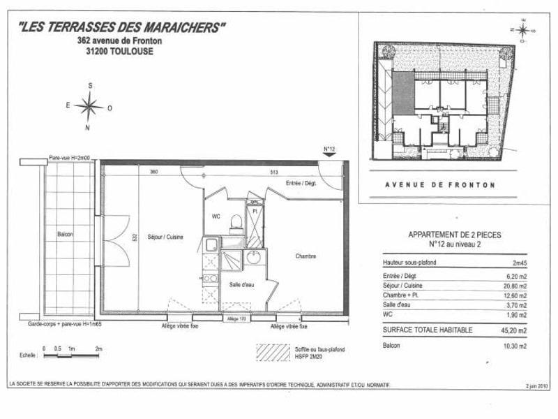 Location appartement Toulouse 507€ CC - Photo 9