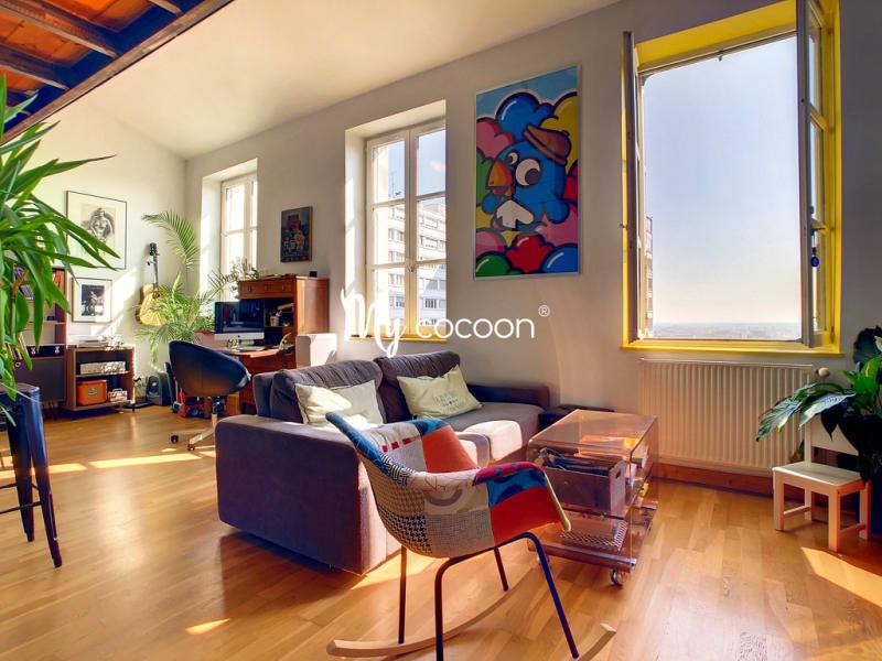Appartement Croix-Rousse Lyon 3 pièces 85 m²