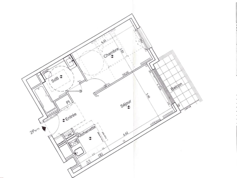 Sale apartment Vanves 410000€ - Picture 3