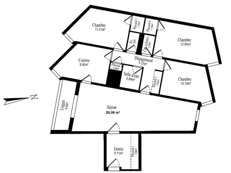Vente appartement Vanves 634400€ - Photo 7