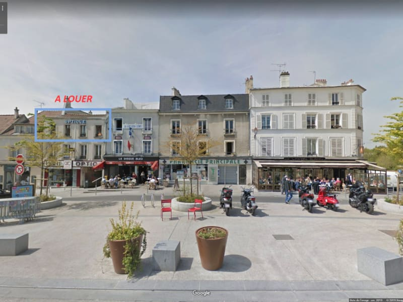 Rental apartment Montmorency 862€ CC - Picture 1