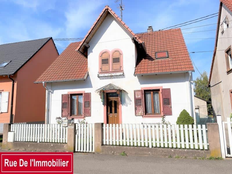 Sale house / villa Marienthal 369000€ - Picture 1