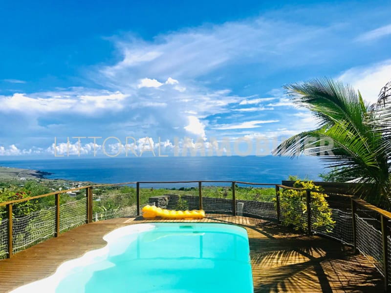 Sale house / villa La saline les bains 672000€ - Picture 1