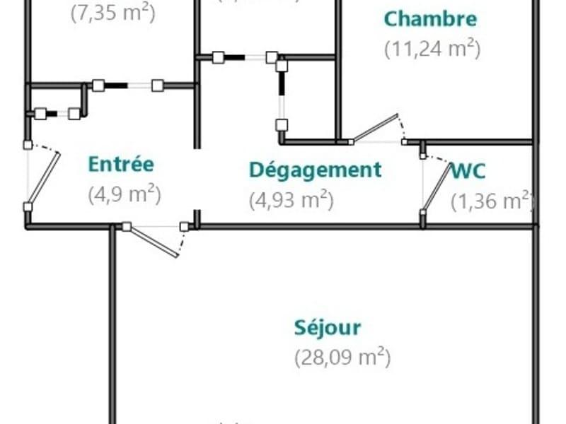 Venta  apartamento Boulogne billancourt 544000€ - Fotografía 6
