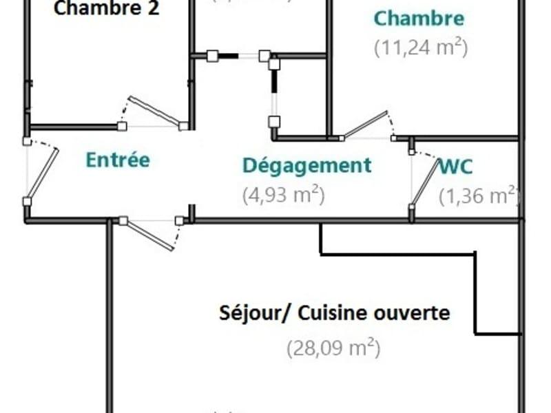 Venta  apartamento Boulogne billancourt 544000€ - Fotografía 7