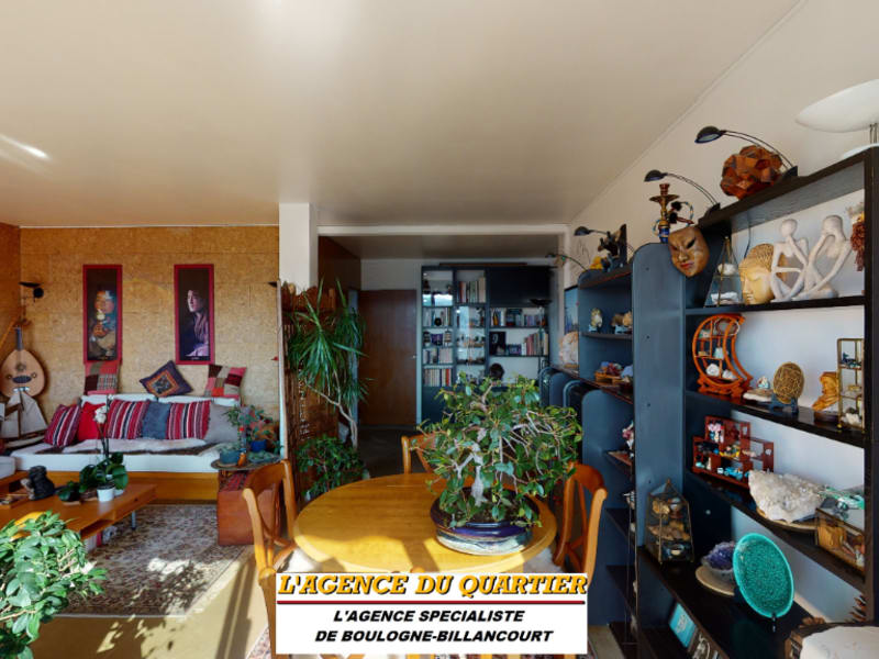 Deluxe sale apartment Boulogne billancourt 899000€ - Picture 2